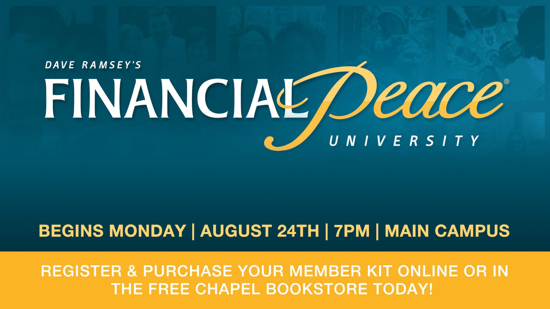 Dave Ramsey's Financial Peace University - Main Campus in Gainesville - Free Chapel